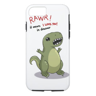check out fc181 8a8fc Rawr Dinosaurs iPhone 8/7 Cases & Covers   Zazzle
