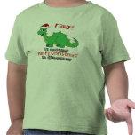 Rawr Merry Christmas in Dinosaur Tees
