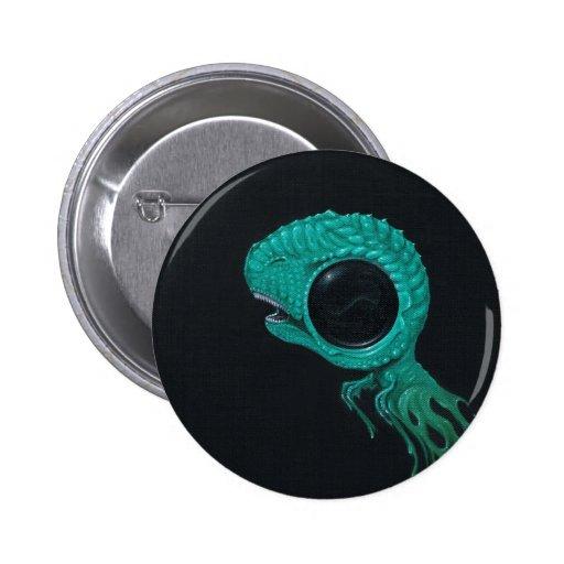 Rawr Pinback Button