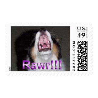 Rawr!!! Postage Stamp