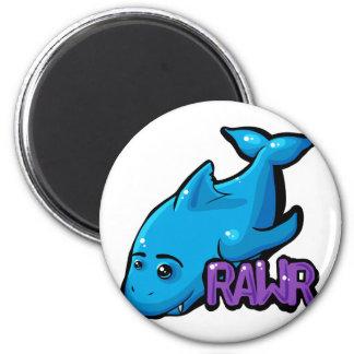 RAWR - Shark Koelkast Magneten