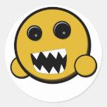 Rawr Smiley Sticker