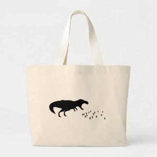 Rawr T-Rex Canvas Bags