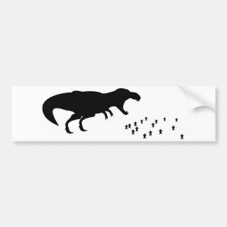 ¡Rawr T-Rex Etiqueta De Parachoque
