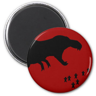 Rawr T-Rex Fridge Magnets