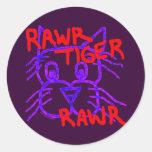 Rawr Tiger Rawr Fun Stickers