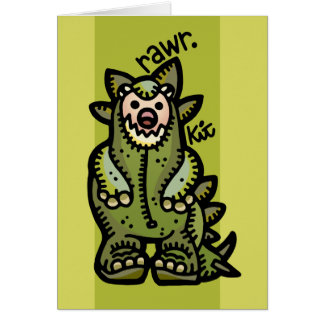 rawr to you and yours greeting cards