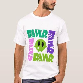 Rawr with Cartooon Character T Shirt