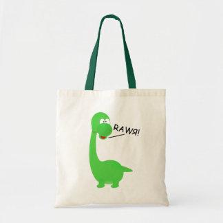 Rawrosaur Dinosaur Tote Bag