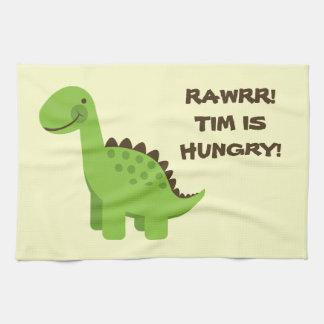 Rawrr! Hungry Dinosaur! Towel