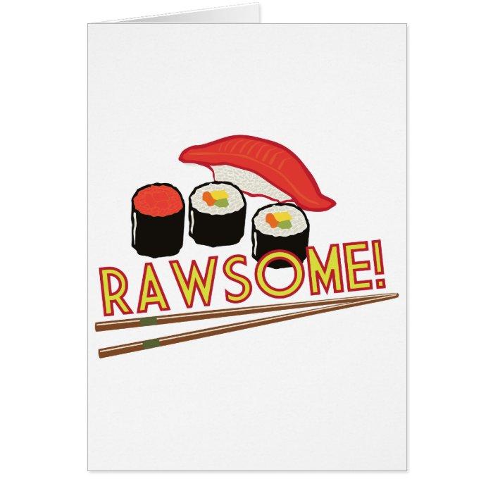Rawsome! Card