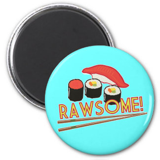 ¡Rawsome! Imán Redondo 5 Cm