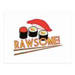 ¡Rawsome! Postal