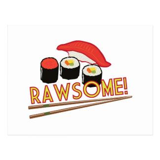 Rawsome! Postcard