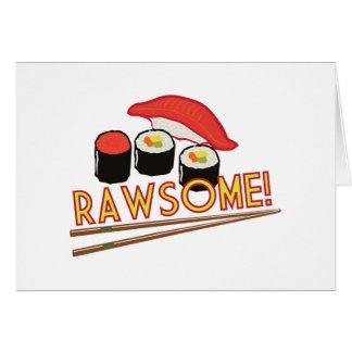 ¡Rawsome! Tarjeta De Felicitación