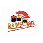 ¡Rawsome! Tarjetas Postales