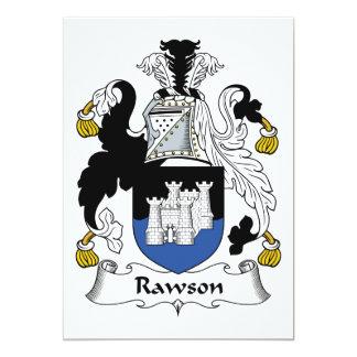 Rawson Family Crest Card
