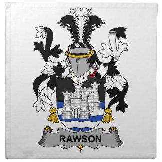 Rawson Family Crest Printed Napkin