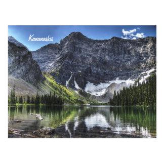 Rawson Lake, Kananaskis, Canada. Postcard