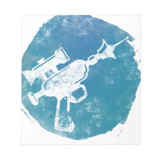 Ray Gun 21 Notepad