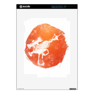 Ray Gun 2 iPad 2 Skins