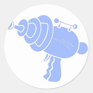 Ray Gun Classic Round Sticker