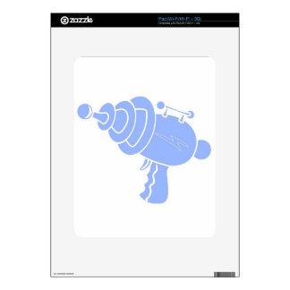 Ray Gun Decal For The iPad