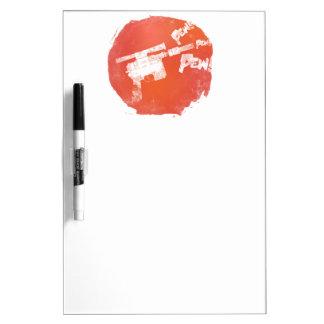 Ray Gun Dry-Erase Board
