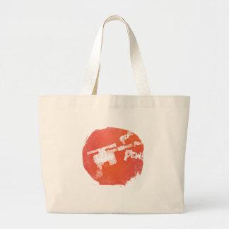 Ray Gun Large Tote Bag