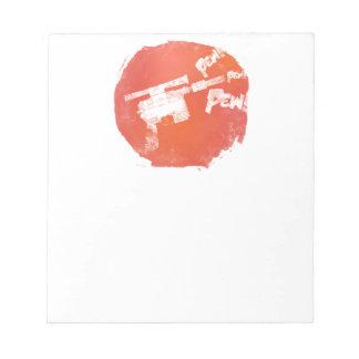Ray Gun Notepad