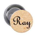 Ray Name Tag Button