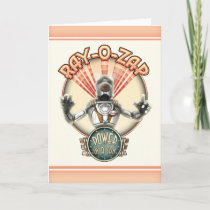 Ray-O-Zap Greeting Card