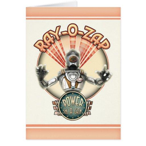 Ray-O-Zap Greeting Card