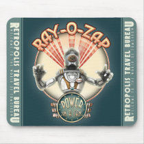 Ray-O-Zap Retro Robot Mouse Pad
