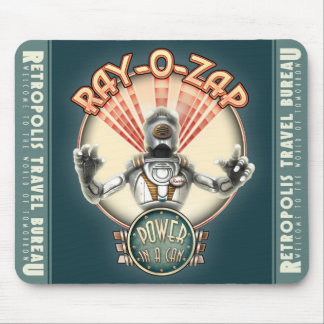 Ray-O-Zap Retro Robot Mouse Pad