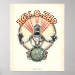 """Ray-O-Zap Retro Robot poster (16x20"""")"""