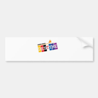 Ray of Colors Car Bumper Sticker