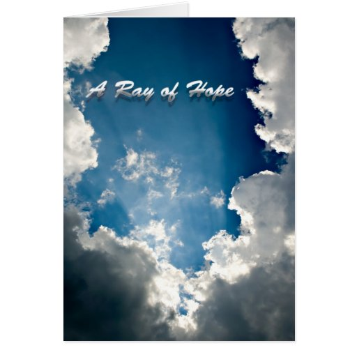 Ray of Hope Card