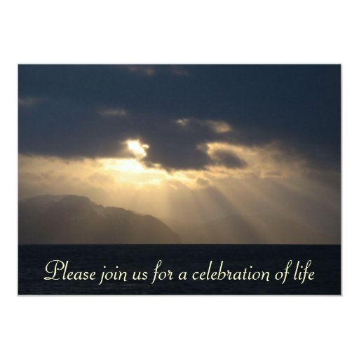 Ray of Light Memorial Service Announcement