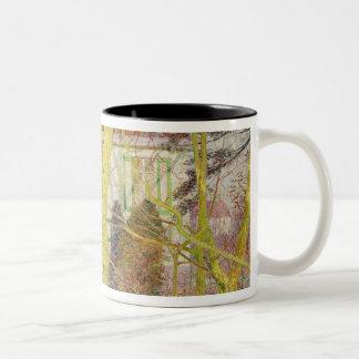 Ray of Sunlight or, Zonneschijn, April 1899 Two-Tone Coffee Mug
