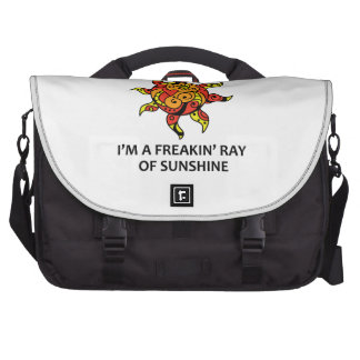 Ray Of Sunshine Bags For Laptop