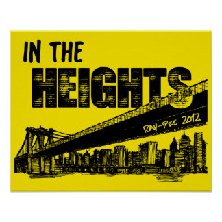 Ray-Pec 2012 In the Heights Poster