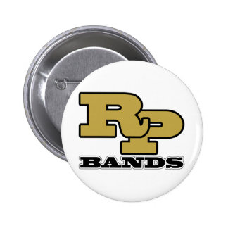 Ray-Pec Bands RP Logo Pinback Buttons