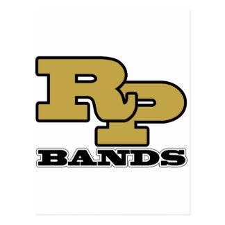 Ray-Pec Bands RP Logo Postcard