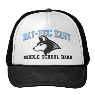 Ray-Pec East Middle School Band Mesh Hats