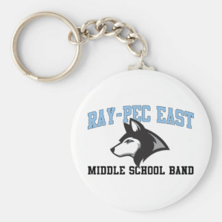Ray-Pec East Middle School Band Key Chain