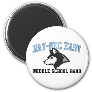 Ray-Pec East Middle School Band Magnet