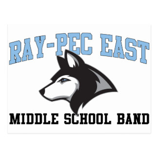 Ray-Pec East Middle School Band Postcard