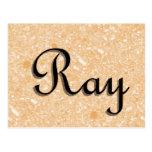 Ray Postcard