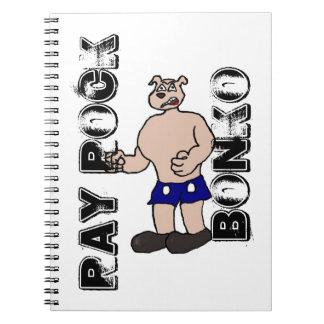 Ray Rock Bonko notebook